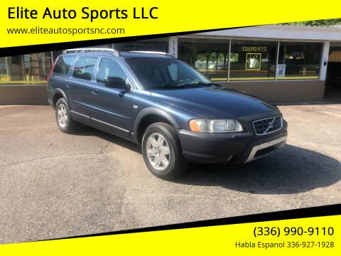 2005 Volvo XC70 for sale at Elite Auto Sports LLC in Wilkesboro NC