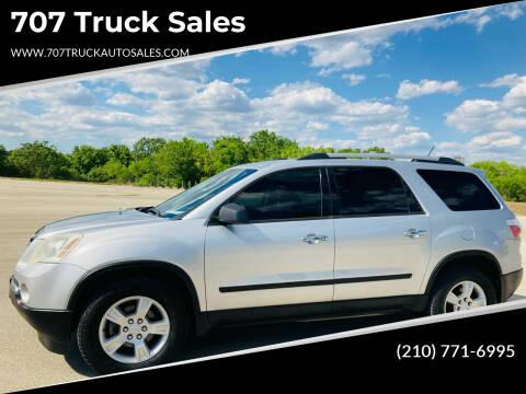 2010 GMC Acadia for sale at 707 Truck Sales in San Antonio TX