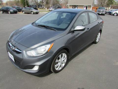 2012 Hyundai Accent for sale at Fedder Motors in Mora MN