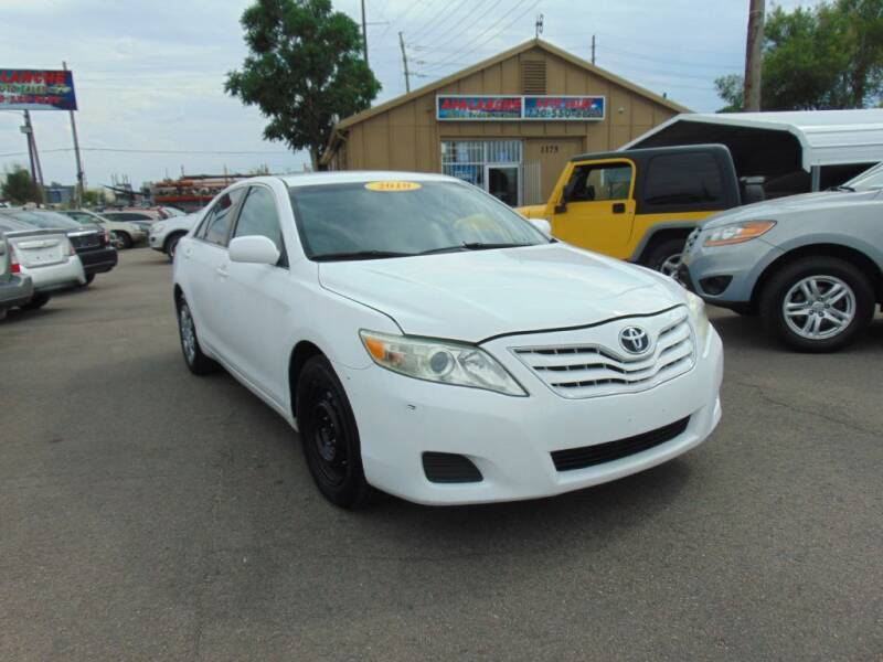 2010 Toyota Camry for sale at Avalanche Auto Sales in Denver CO