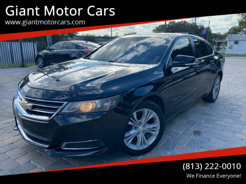 2014 Chevrolet Impala for sale at Giant Motor Cars in Tampa FL