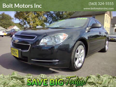 2012 Chevrolet Malibu for sale at Bolt Motors Inc in Davenport IA
