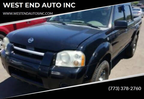 2004 Nissan Frontier for sale at WEST END AUTO INC in Chicago IL