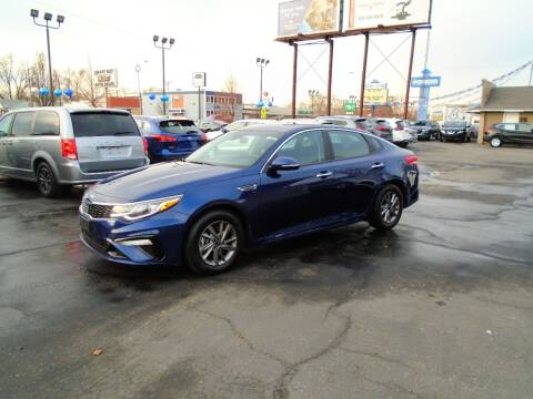 2020 Kia Optima for sale at Smart Buy Auto Sales in Ogden UT