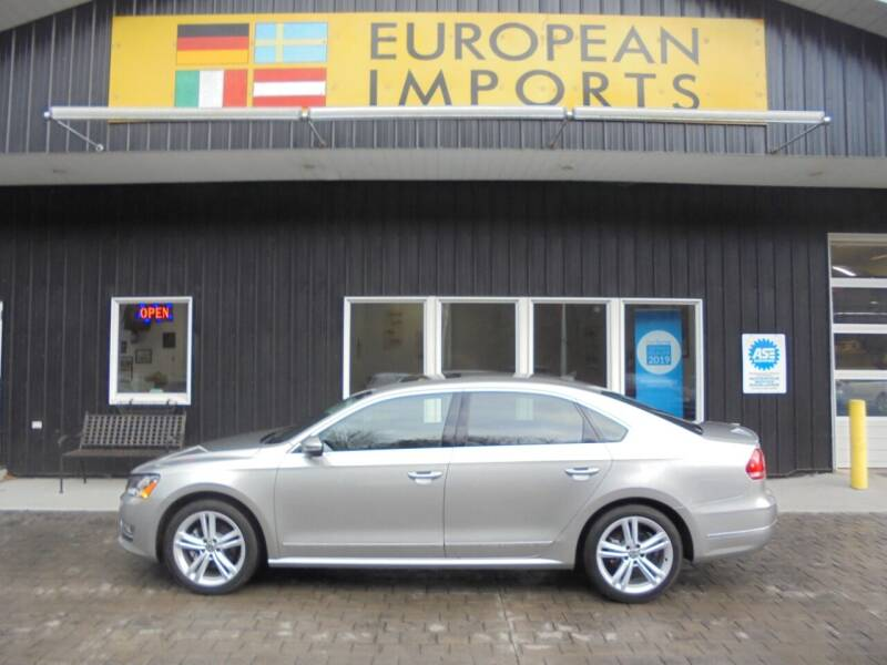 2012 Volkswagen Passat for sale at EUROPEAN IMPORTS in Lock Haven PA