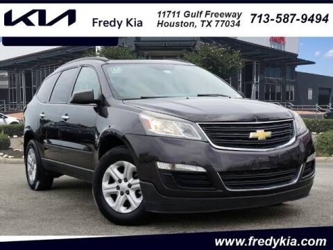 2015 Chevrolet Traverse for sale at FREDY KIA USED CARS in Houston TX