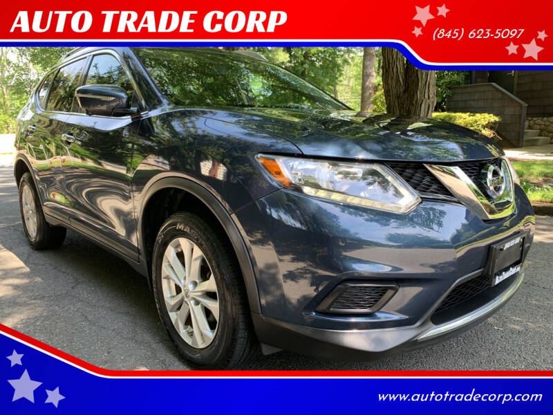 2015 Nissan Rogue for sale at AUTO TRADE CORP in Nanuet NY