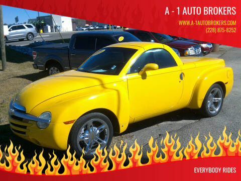 2006 Chevrolet SSR for sale at A - 1 Auto Brokers in Ocean Springs MS