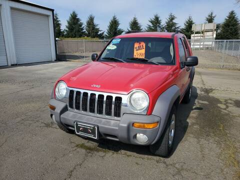2004 Jeep Liberty for sale at McMinnville Auto Sales LLC in Mcminnville OR