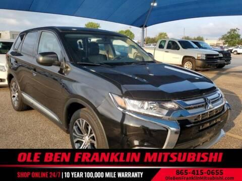 2018 Mitsubishi Outlander for sale at Ole Ben Franklin Mitsbishi in Oak Ridge TN