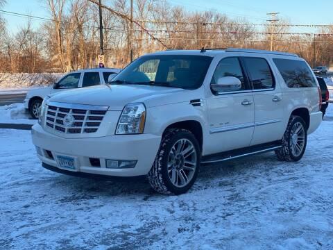 2012 Cadillac Escalade ESV for sale at Tonka Auto & Truck in Mound MN