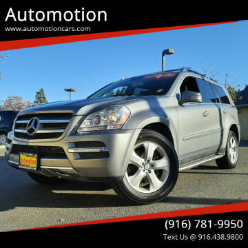 2012 Mercedes-Benz GL-Class for sale at Automotion in Roseville CA