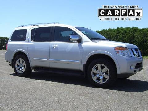 2012 Nissan Armada for sale at Atlantic Car Company in East Windsor CT