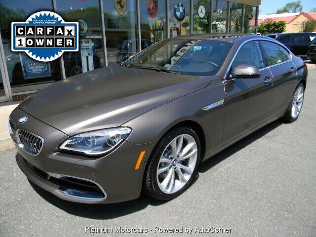 2018 BMW 6 Series for sale in Warrenton, VA