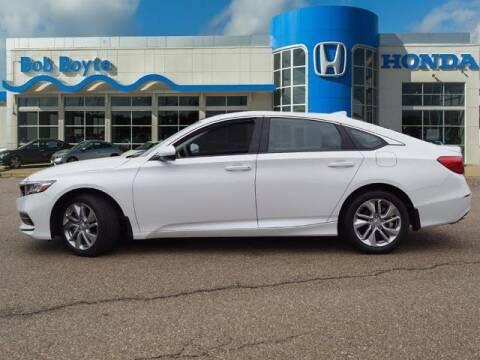 2020 Honda Accord for sale at BOB BOYTE HONDA in Brandon MS
