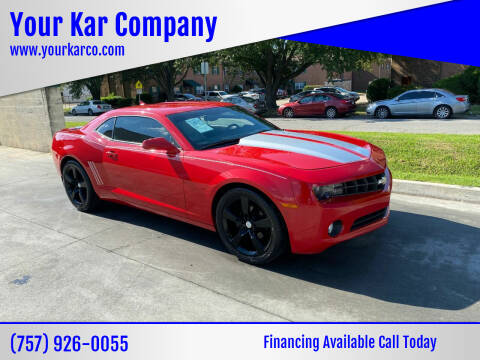 2012 Chevrolet Camaro for sale at Your Kar Company in Norfolk VA