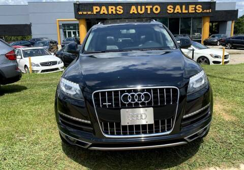 2014 Audi Q7 for sale at Pars Auto Sales Inc in Stone Mountain GA