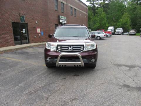 2012 Honda Pilot for sale at Heritage Truck and Auto Inc. in Londonderry NH
