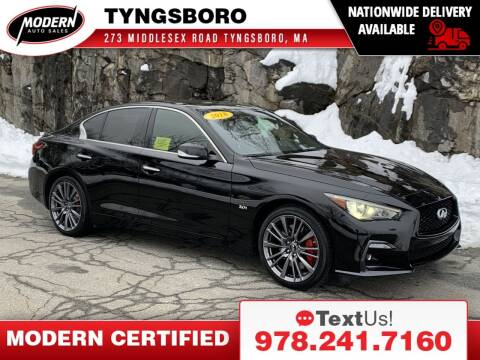 2018 Infiniti Q50 for sale at Modern Auto Sales in Tyngsboro MA