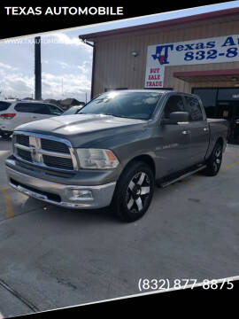 2011 RAM Ram Pickup 1500 for sale at TEXAS AUTOMOBILE in Houston TX