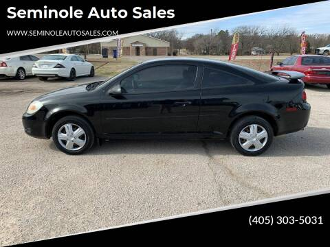 2007 Chevrolet Cobalt for sale at Seminole Auto Sales in Seminole OK