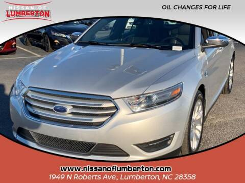 2019 Ford Taurus for sale at Nissan of Lumberton in Lumberton NC