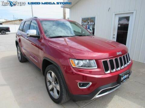 2014 Jeep Grand Cherokee for sale at TWIN RIVERS CHRYSLER JEEP DODGE RAM in Beatrice NE