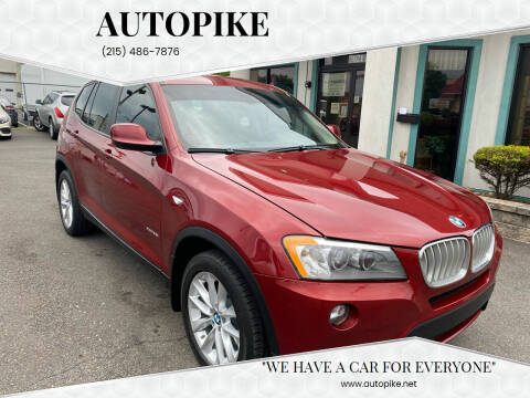 2014 BMW X3 for sale at Autopike in Levittown PA