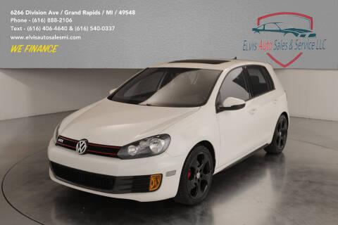 2012 Volkswagen GTI for sale at Elvis Auto Sales LLC in Grand Rapids MI