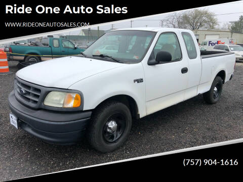 2002 Ford F-150 for sale at Ride One Auto Sales in Norfolk VA