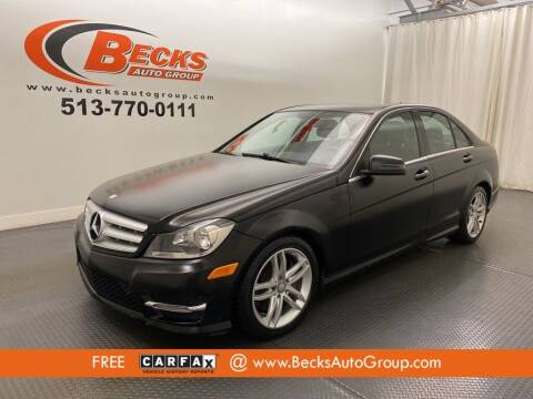 2013 Mercedes-Benz C-Class for sale at Becks Auto Group in Mason OH