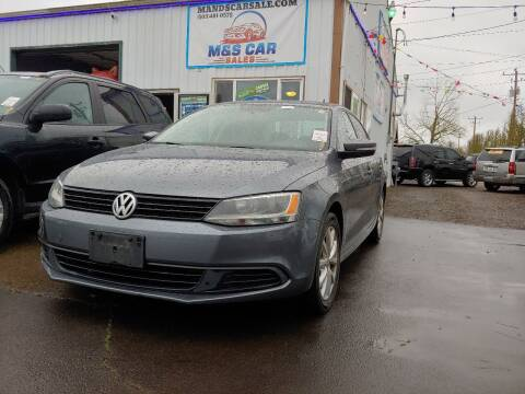 2011 Volkswagen Jetta for sale at M AND S CAR SALES LLC in Independence OR