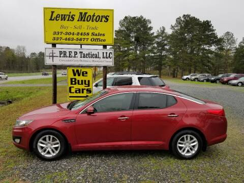 2013 Kia Optima for sale at Lewis Motors LLC in Deridder LA