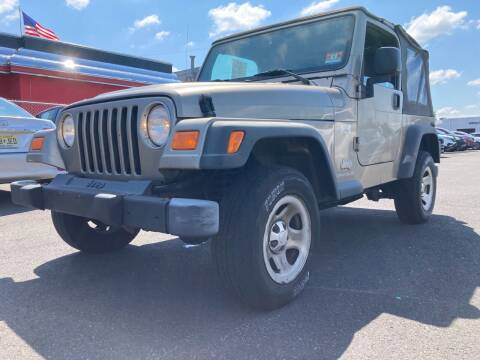 2004 Jeep Wrangler for sale at Michaels Used Cars Inc. in East Lansdowne PA