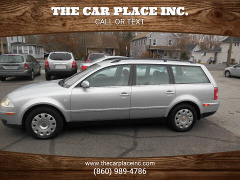 2003 Volkswagen Passat for sale at THE CAR PLACE INC. in Somersville CT