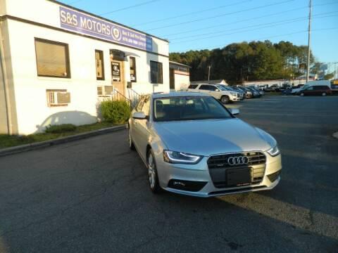 2013 Audi A4 for sale at S & S Motors in Marietta GA