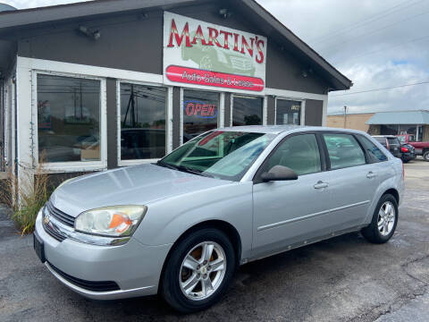 2005 Chevrolet Malibu Maxx for sale at Martins Auto Sales in Shelbyville KY