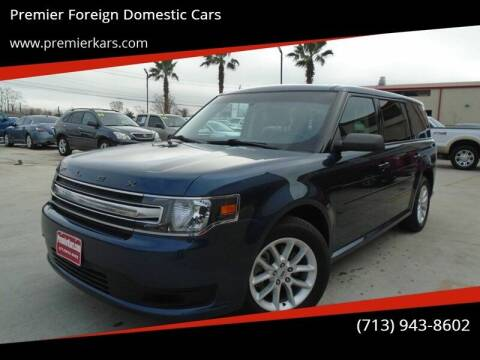 2017 Ford Flex for sale at Premier Foreign Domestic Cars in Houston TX