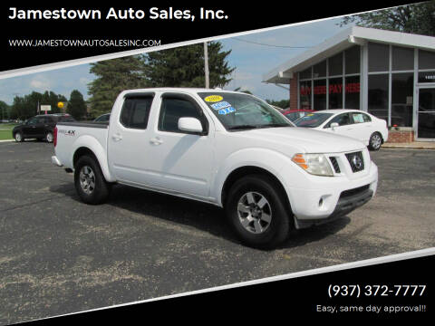 2010 Nissan Frontier for sale at Jamestown Auto Sales, Inc. in Xenia OH