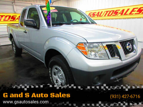 2015 Nissan Frontier for sale at G and S Auto Sales in Ardmore TN