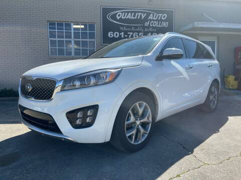 2016 Kia Sorento for sale at Quality Auto of Collins in Collins MS