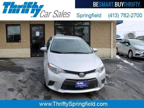 2015 Toyota Corolla for sale at Thrifty Car Sales Springfield in Springfield MA
