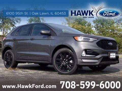 2021 Ford Edge for sale at Hawk Ford of Oak Lawn in Oak Lawn IL