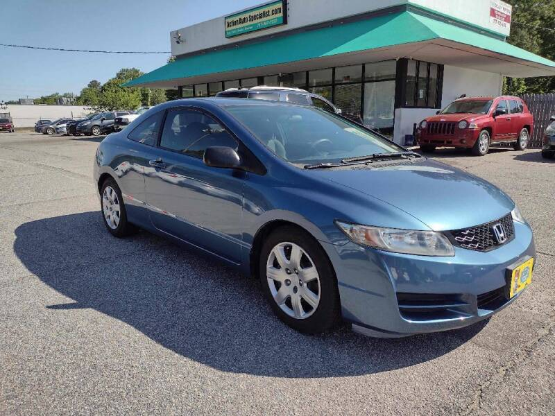 2009 Honda Civic for sale at Action Auto Specialist in Norfolk VA