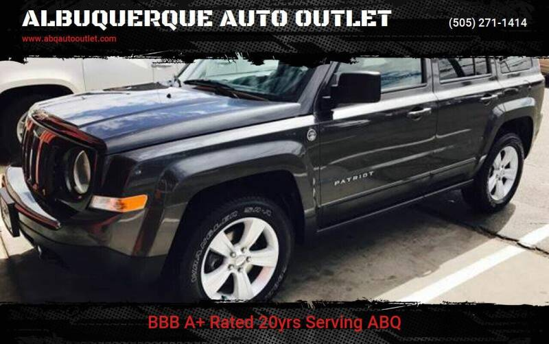 2015 Jeep Patriot for sale at ALBUQUERQUE AUTO OUTLET in Albuquerque NM