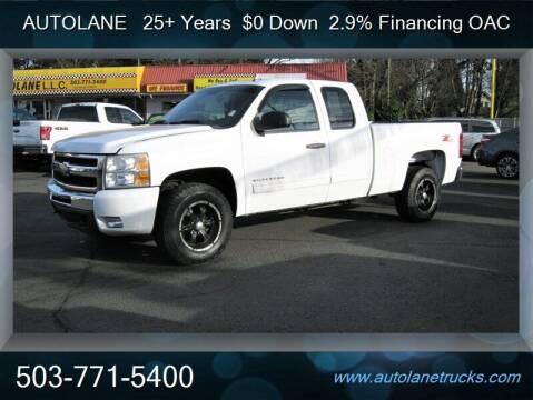 2011 Chevrolet Silverado 1500 for sale at Auto Lane in Portland OR