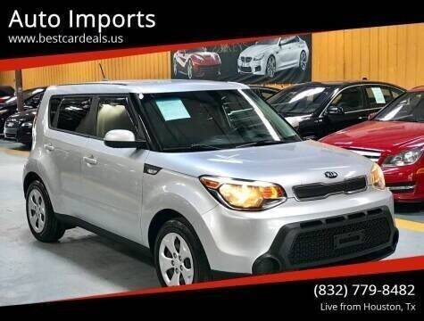 2014 Kia Soul for sale at Auto Imports in Houston TX