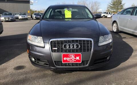 2006 Audi A6 for sale at eurO-K in Benton ME