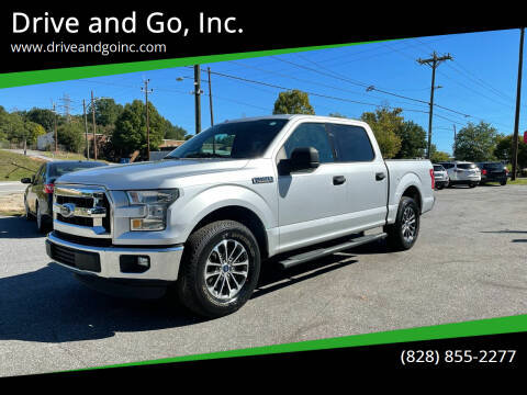 2016 Ford F-150 for sale at Drive and Go, Inc. in Hickory NC