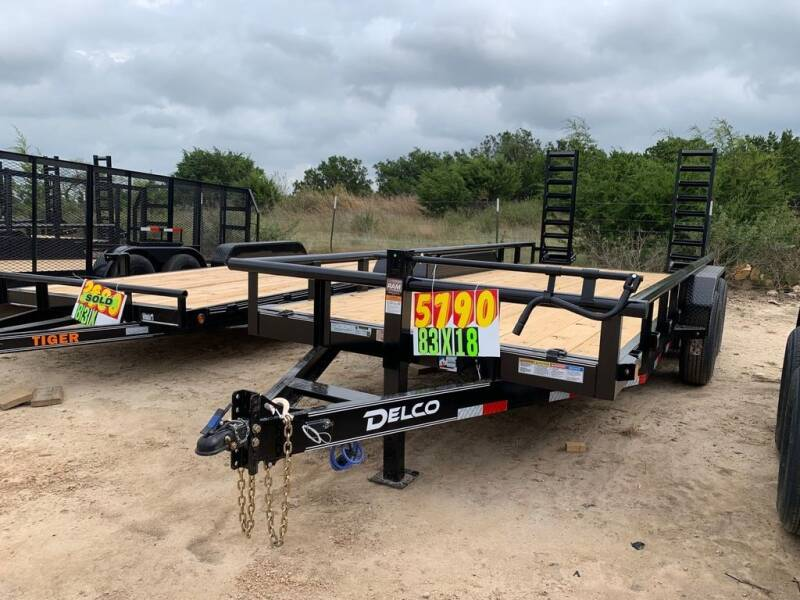 """2021 DELCO  - Equipment 83"""" X 18' -  for sale at LJD Sales in Lampasas TX"""